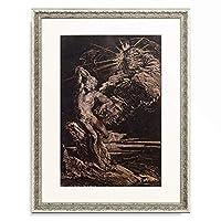 ジョバンニ・ベネデット・カスティリオーネ Giovanni Benedetto Castiglione 「The Creation of Adam. About 1642」 額装アート作品
