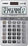 カシオ 本格実務電卓 日数&時間・税計算 ジャストタイプ 12桁 JS-20DB-N