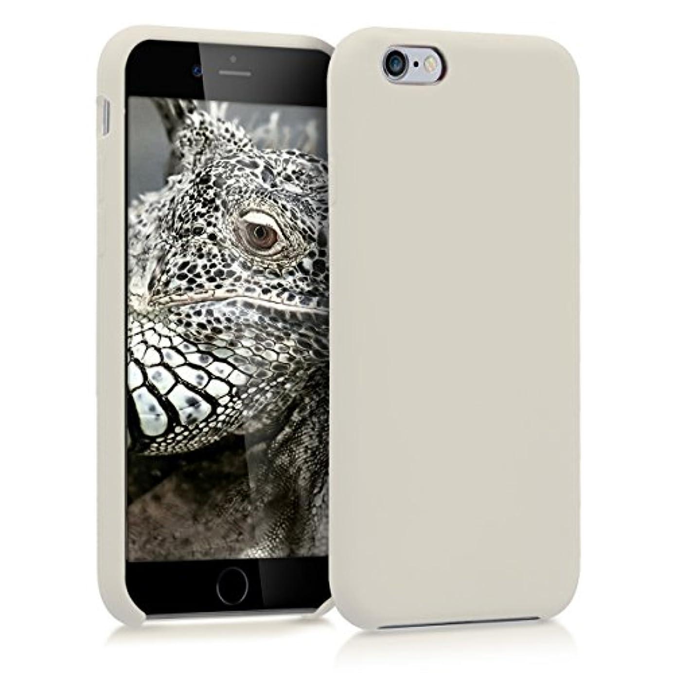 ローン小道具スリルkwmobile Apple iPhone 6 / 6S 用 ケース - スマホカバー - 携帯 保護ケース クリーム アイフォン