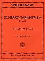 ウィニアウスキ: スケルツォ・タランテラ Op.16/フランチェスカッティ編/インターナショナル・ミュージック社/ピアノ伴奏付バイオリン・ソロ楽譜