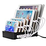 NexGadget 充電スタンド 8つUSBポート 収納充電 iPhone iPod iPad Androidスマホ対応可