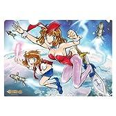 DAICON 3&4 女の子 セル画風 クリアファイル