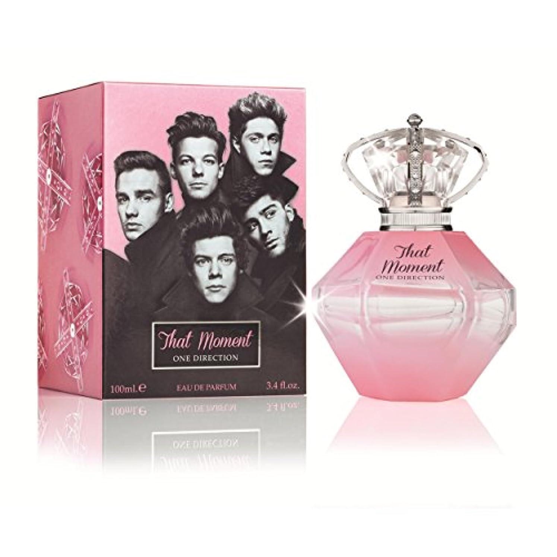 チョップおめでとう笑いThat Moment (ザット モーメント) 3.4 oz (100ml) EDP Spray Limited Edition (限定版) by One Direction