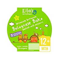 キッチン少し大きい食事ボローニャベークステージ4 200グラム (Ella's) - Ella's Kitchen Little Big Meal Bolognese Bake Stage 4 200g [並行輸入品]