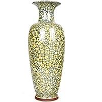 Peacefre 磁器エナメルアンティーク花瓶モダンホームリビングルーム家具装飾品工芸品装飾品 (色 : 5)