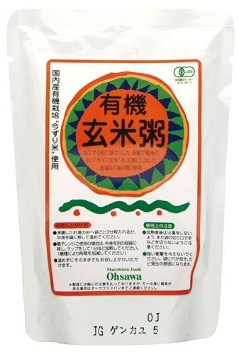 オーサワの有機玄米粥 200g