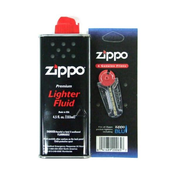ZIPPO オイル 小缶 フリントセットの商品画像
