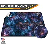 (120cm x 120cm , Nebula) - Battle Game Mat - 120cm x 120cm - Table Top Role Playing Game Map - Wargaming Play Mat - RPG Dust Warefare & Flames of War - Reusable Miniature Figure Board Games - 40k Warhammer Gaming Vinyl