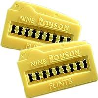 RONSON ロンソン ライター 純正フリント(発火石)2個セット