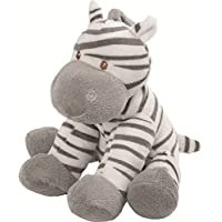 Suki Baby Medium Zooma Soft Boa Plush Toy with Embroidered Accents (Zebra)