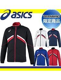 アシックス メンズ トレーニングジャケット ブラック XAT12T 90 L