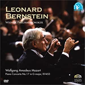 バーンスタイン/モーツァルト:ピアノ協奏曲第17番ト長調 K.453(初回出荷限定価格版) [DVD]