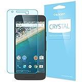 【Spigen】 Nexus 5X フィルム 液晶保護フィルム, クリスタル クリア 【近接センサー対応 高い 透明度】 Google LG Nexus5X / ネクサス 5X 用 (クリスタル クリア SGP11755)