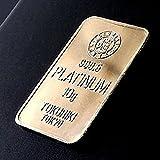 徳力 10g 純 プラチナ バー TOKURIKI 日本製 Pt1000 白金 インゴット Platinum Bar ラミネートケース入り