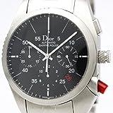【外装仕上げ済み】【Christian Dior】クリスチャン・ディオール シフルルージュ クロノグラフ ステンレススチール 自動巻き メンズ 時計 C