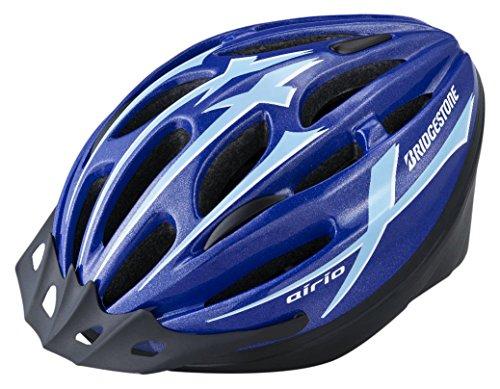 BRIDGESTONE(ブリヂストン) エアリオ ヘルメット ブルー CHA5660 B371301BU L (頭囲 56cm~60cm未満)