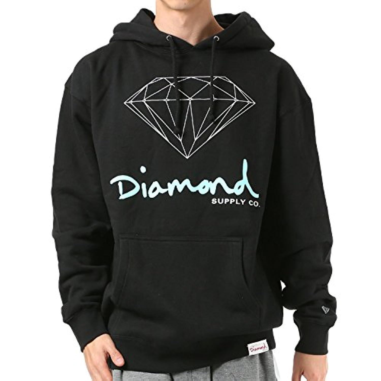 Diamond Supply Co. ダイヤモンド サプライ メンズ パーカー LOGO OG SIGN HOODIE Z18DMPF002CR