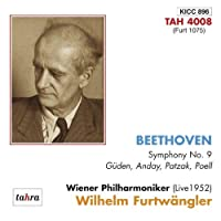 Wilhelm Furtwangler / Vienna Philharmonic Orchestra - Beethoven: Symphony No.9 [Japan CD] KICC-896 by Wilhelm Furtwangler / Vienna Philharmonic Orchestra