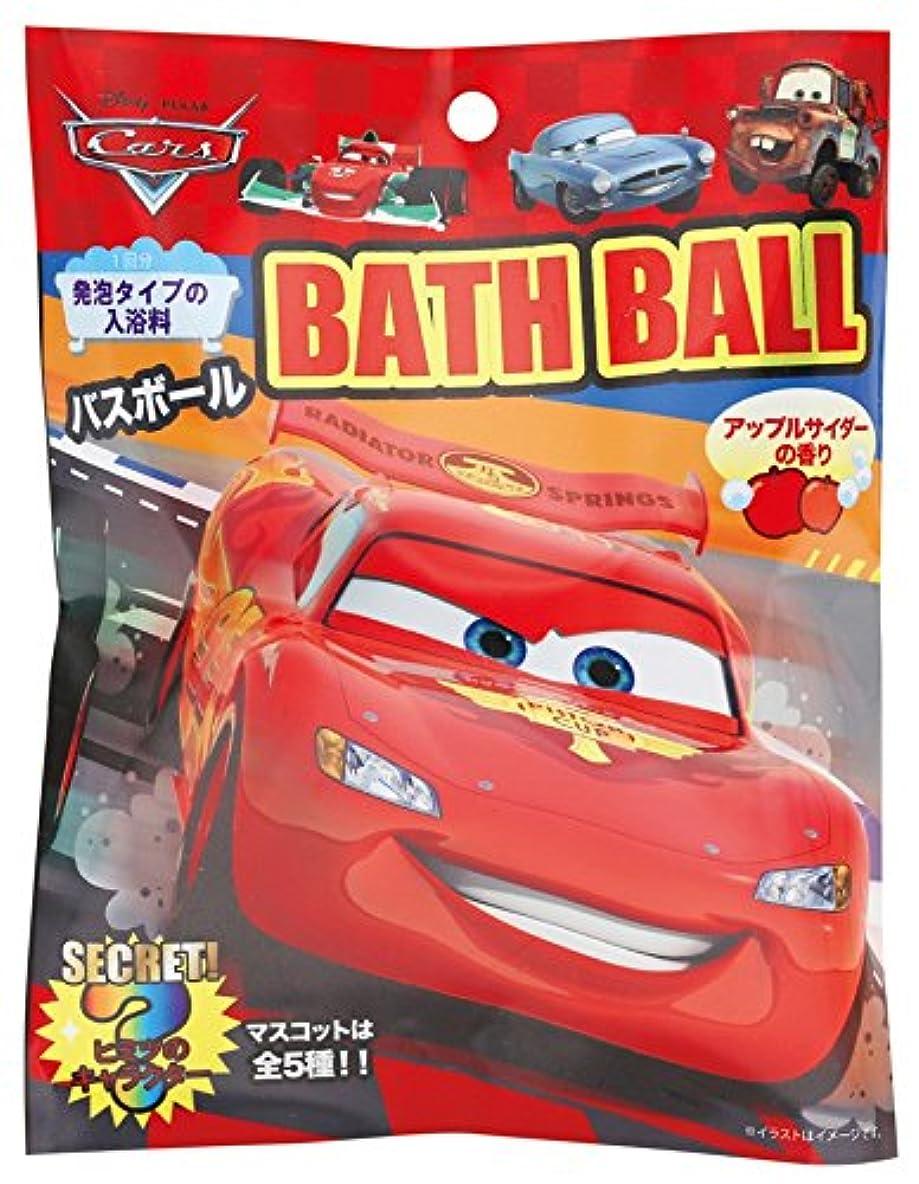 こする伝導浅いディズニー 入浴剤 カーズバスボール おまけ付き DIP-79-01