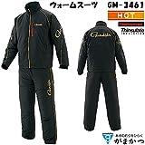 がまかつ ウォームスーツ GM-3461 ブラック M~LL (防寒ウェア 撥水) L