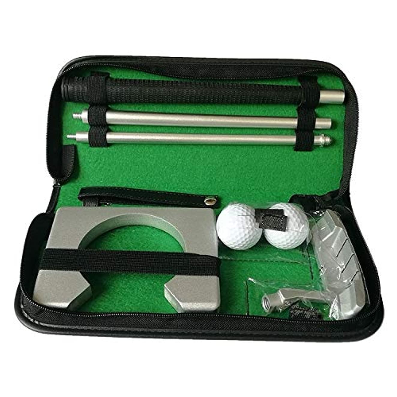 エステート気分意図的ゴルフ用品 PGMゴルフジッパーパック屋内トレーニングパターセット