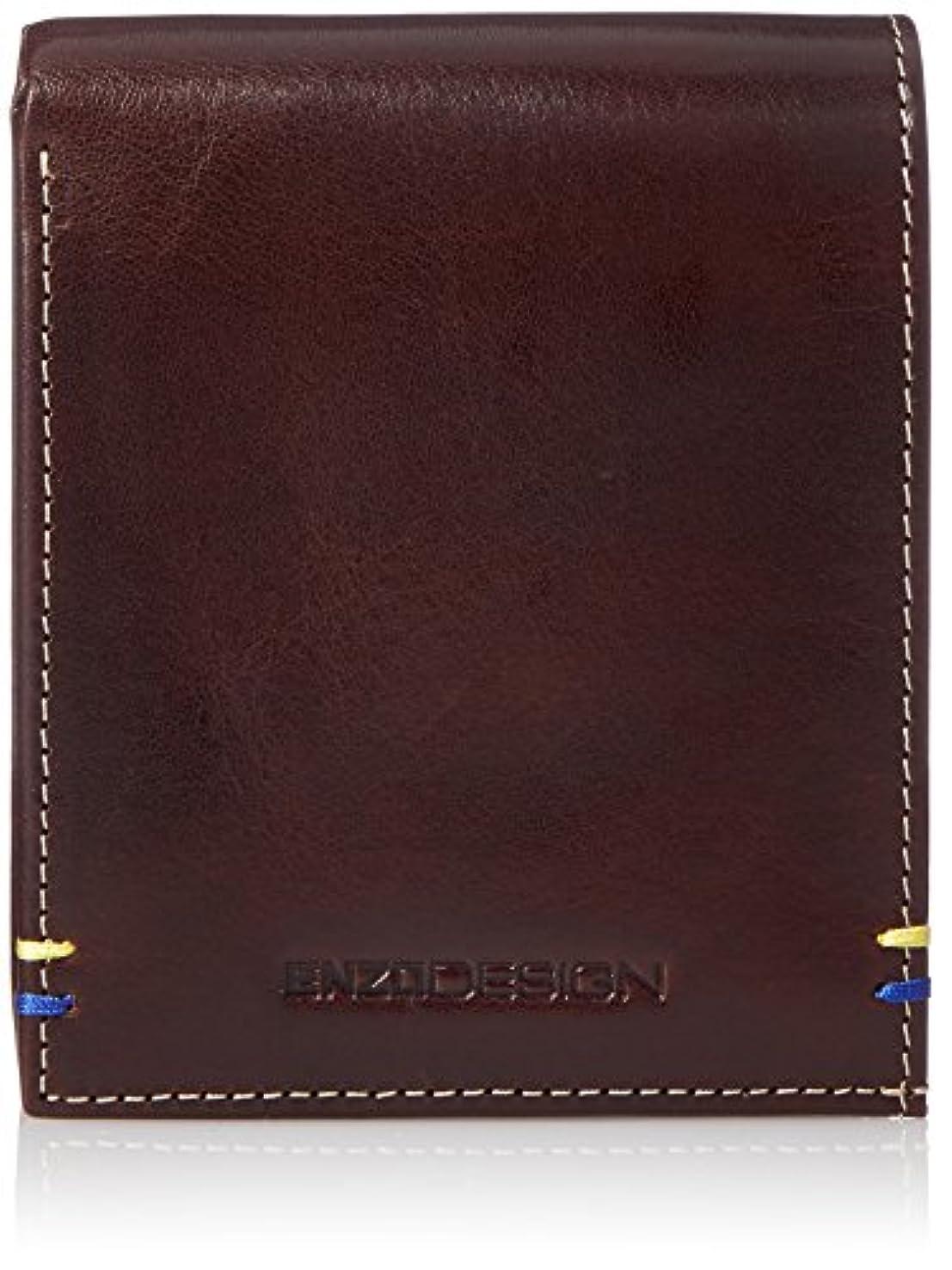 あいまいな蓮家具[エンゾーデザイン] 二つ折り財布 イタリアンレザー 3016-01