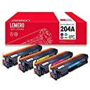 LEMERO Replacement for HP 204A 510A CF510A CF511A CF512A CF513A Toner Cartridge for use in LaserJet Pro MFP M180nw M154nw Printers 4 Packs 【Creative Arts】 並行輸入品