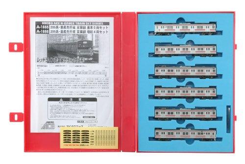 Nゲージ A1665 205系・量産先行車 京葉線 基本6両セット