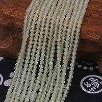 【Stone wholesale】レモンクォーツ 約2mmカットビーズ 卸連売り約38cm パワーストーン 天然石水晶 DIY手作り素材