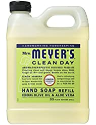 Mrs. Meyer's Liquid Hand Soap Refill, Lemon Verbena, 33 Fluid Ounce by Mrs. Meyer's Clean Day