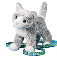 Scatter Gray Cat by Douglas Cuddle Toys