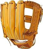 adidas(アディダス) 野球 軟式 グラブ アディダスプロフェッショナル 三塁手用 BID49 カレッジゴールド×クラフトオークルF 16 ×ゴールドメット(AZ3548) LH(右投げ用)