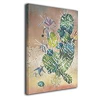 Zetena サボテン アートパネル アートフレーム キャンバス絵画 壁飾り絵画 ポスター インテリア絵画 インテリア装飾 壁飾り木枠セット モダン 新築飾り 贈り物