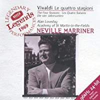Vivaldi: The Four Seasons / Marriner, Academy of SMF