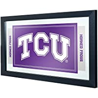 Texas Christian University Logo and Mascot Framed Mirror