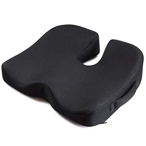 IKSTAR クッション 低反発 座布団 椅子 腰楽クッション オフィス