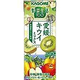 カゴメ 野菜生活100 愛媛キウイミックス 195ml ×24本