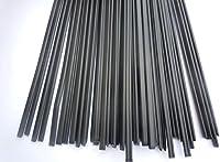 High Quality 30PCS PP Black plastic welding rods PP welder rods