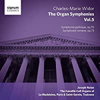 Widor: The Organ Symphonies, Vol. 5 by Joseph Nolan (2014-08-12)