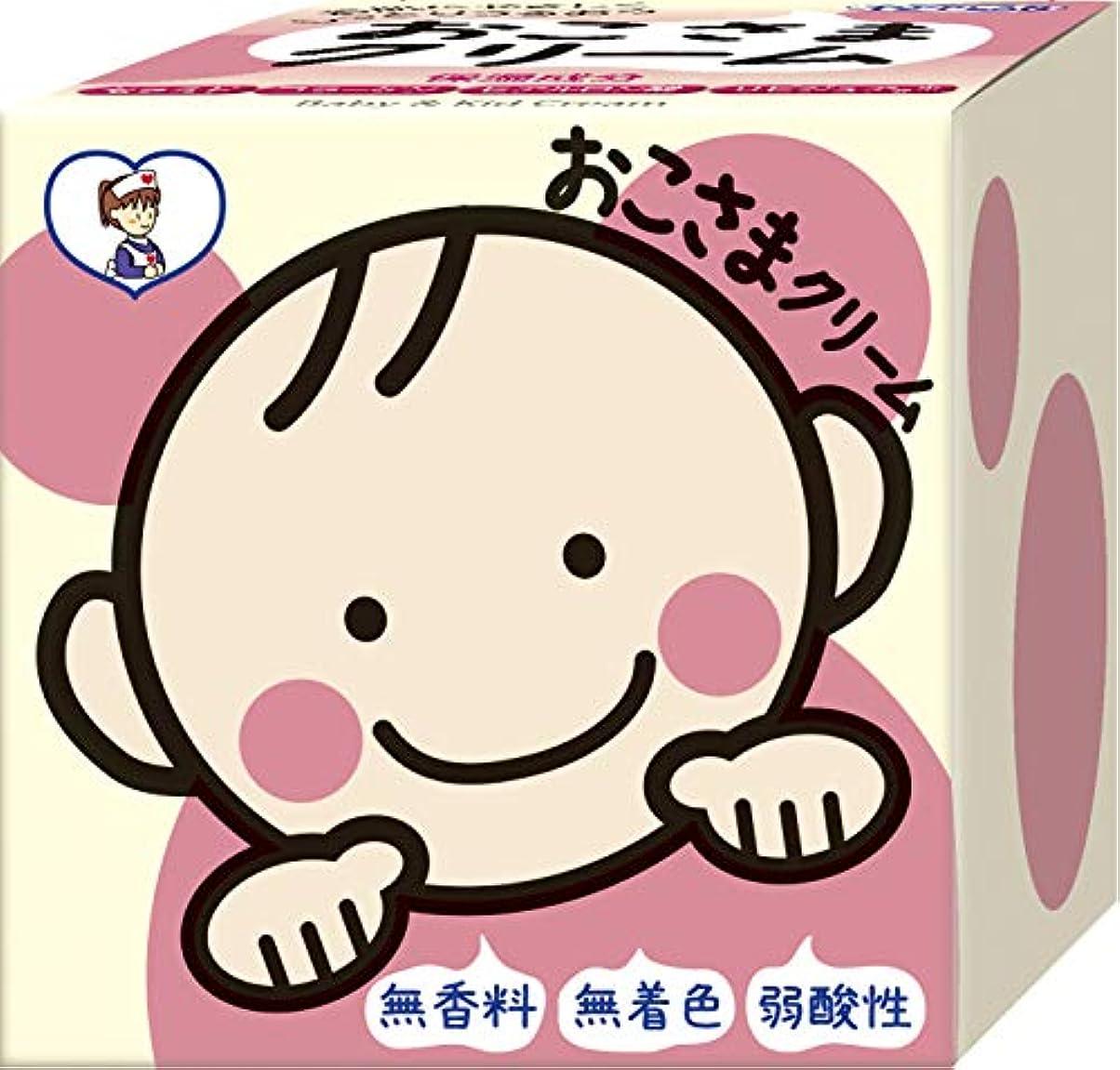 代わって肺炎ぜいたくTO-PLAN(トプラン) おこさまクリーム110g 無着色 無香料 低刺激クリーム