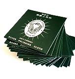 銀 シルバー クリーナー 専用 布 ポリッシュ クロス セット ピアス ネックレス クロムハーツ 磨き (50枚)