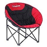 KingCamp(キングキャンプ) KC3816 ムーンチェア イス 椅子 RED