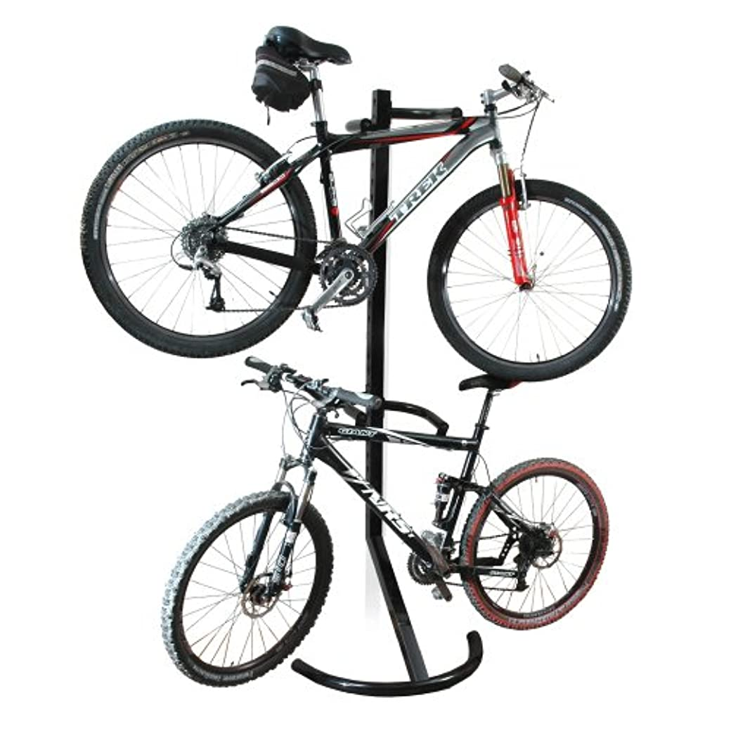 ナプキンカプラーデザイナーRAD Cycle Products Gravity Bike Stand/Bicycle Rack for Storage or Display, Holds Two Bicycles by RAD Cycle Products