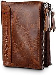 HollyRobbin Bi - Fold Wallet, Mens (Brown)