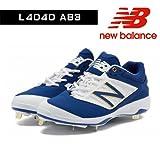 newbalance スポーツシューズ ニューバランス L4040AB3 スパイク(埋め込み金具) BLUE/WHITE L4040AB3D 26.5cm