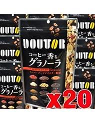 【20個】 ドトール コーヒー香るグラノーラ 210gx20個 (4946763053654-20)