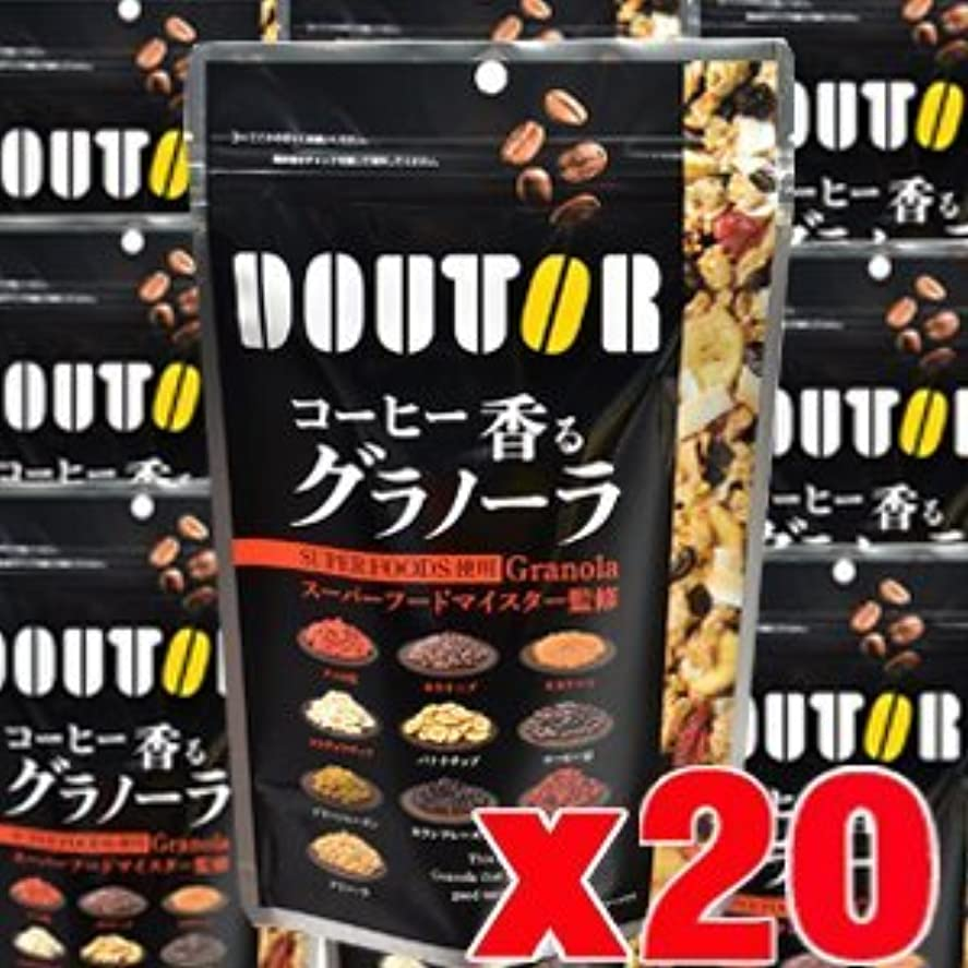 ロープ苦情文句レバー【20個】 ドトール コーヒー香るグラノーラ 210gx20個 (4946763053654-20)