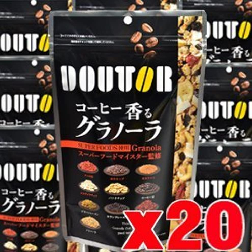 浅いほんの利得【20個】 ドトール コーヒー香るグラノーラ 210gx20個 (4946763053654-20)