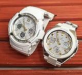 カシオCASIO 腕時計 G-SHOCK&BABY-G ペアウォッチ 純正ペアケース入り ジーショック&ベビージー 2本セット アナデジ ソーラー電波 AWG-M100SGA-7AJF MSG-W100-7A2JF