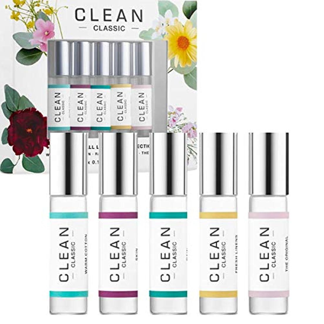 CLEAN(クリーン), Clean Classic Rollerball Set (5 x 0.17 oz/ 5 mL) [海外直送品] [並行輸入品]
